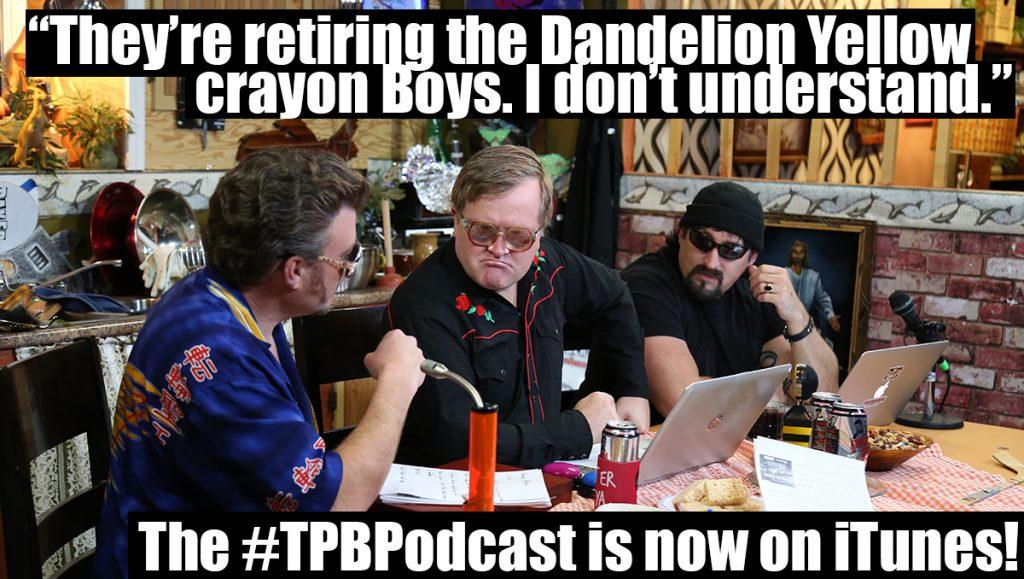 Ricky is very upset that Crayola is retiring Dandelion Yellow