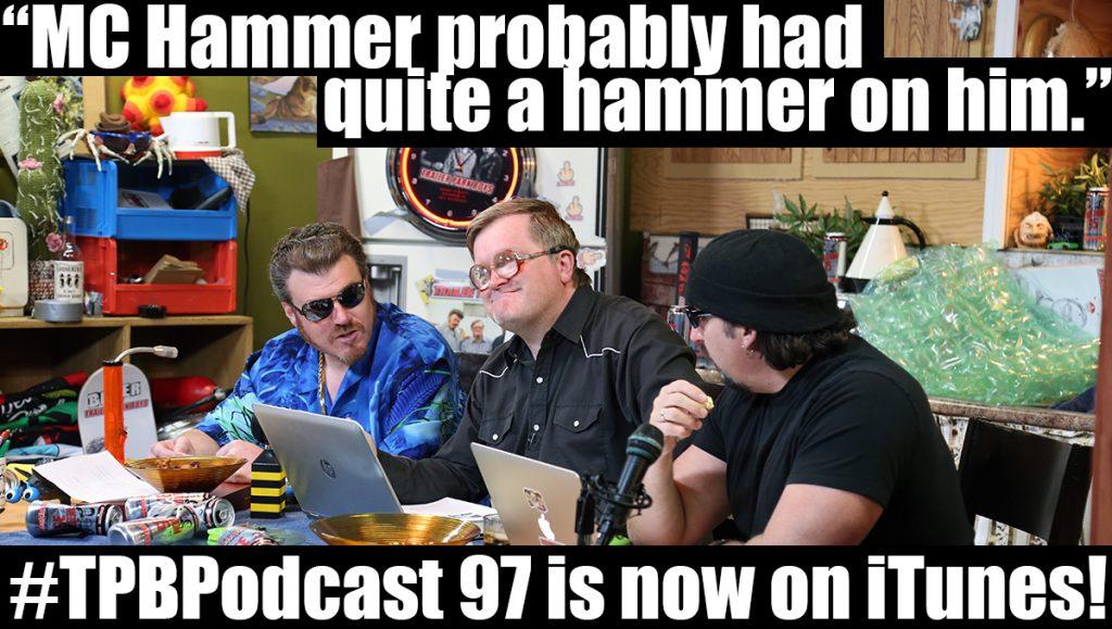 Ricky figures MC Hammer had a big hammer