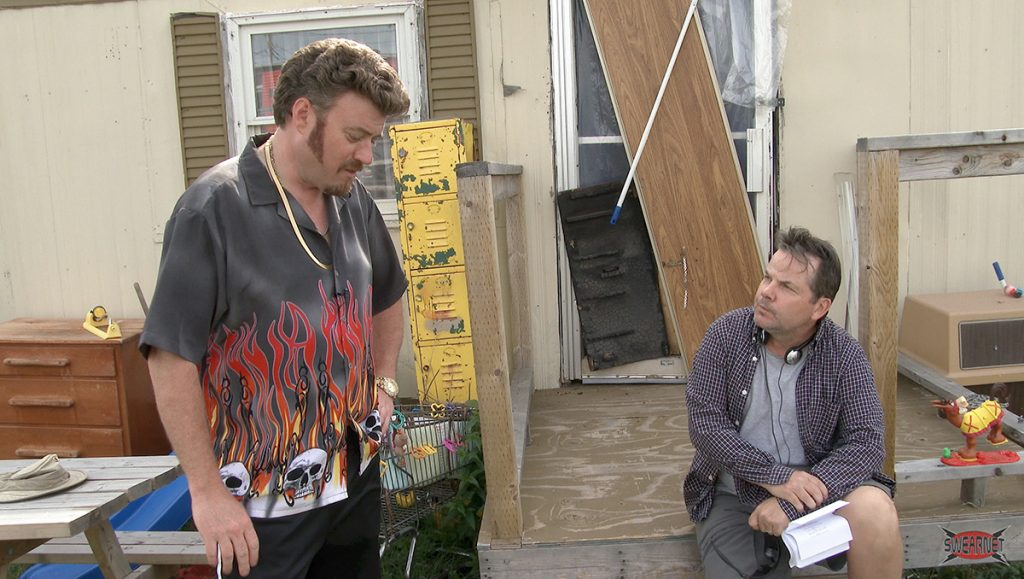 Ricky confronts Bruce McCulloch