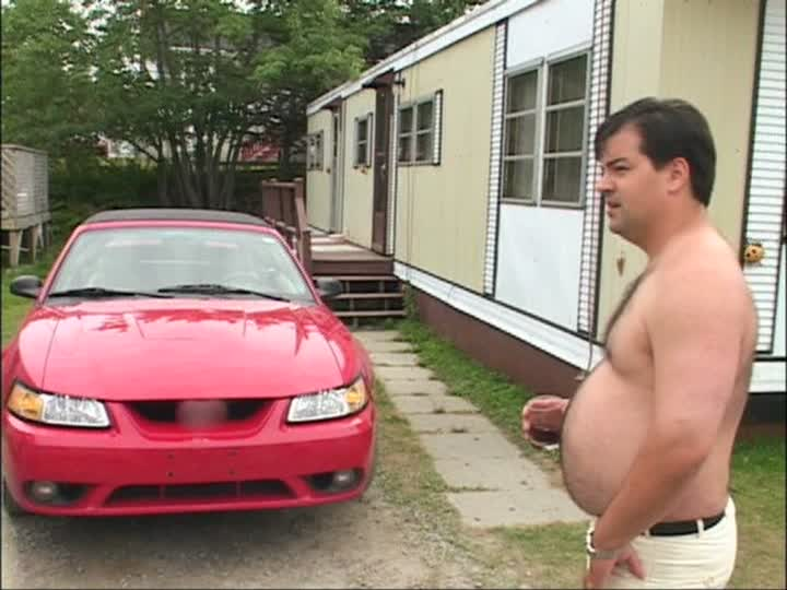 A picture of Julian's Mustang Cobra and Randy