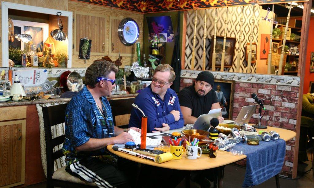 Ricky, Julian and Bubbles on the TPB Podcast