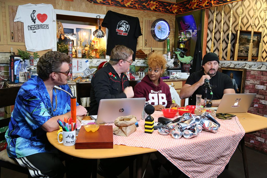 Singer Reeny Smith joins Ricky, Julian, and Bubbles on the podcast