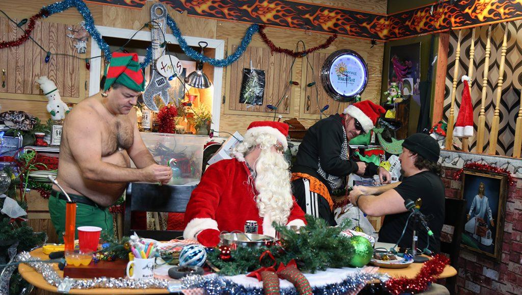 The Trailer Park Boys celebrate Christmas