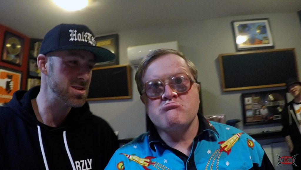 Bubbles is with Classified in the studio