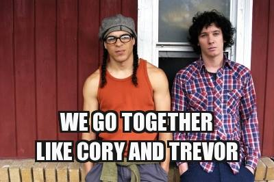 Wanna hang out with Cory and Trevor this Valentine's?