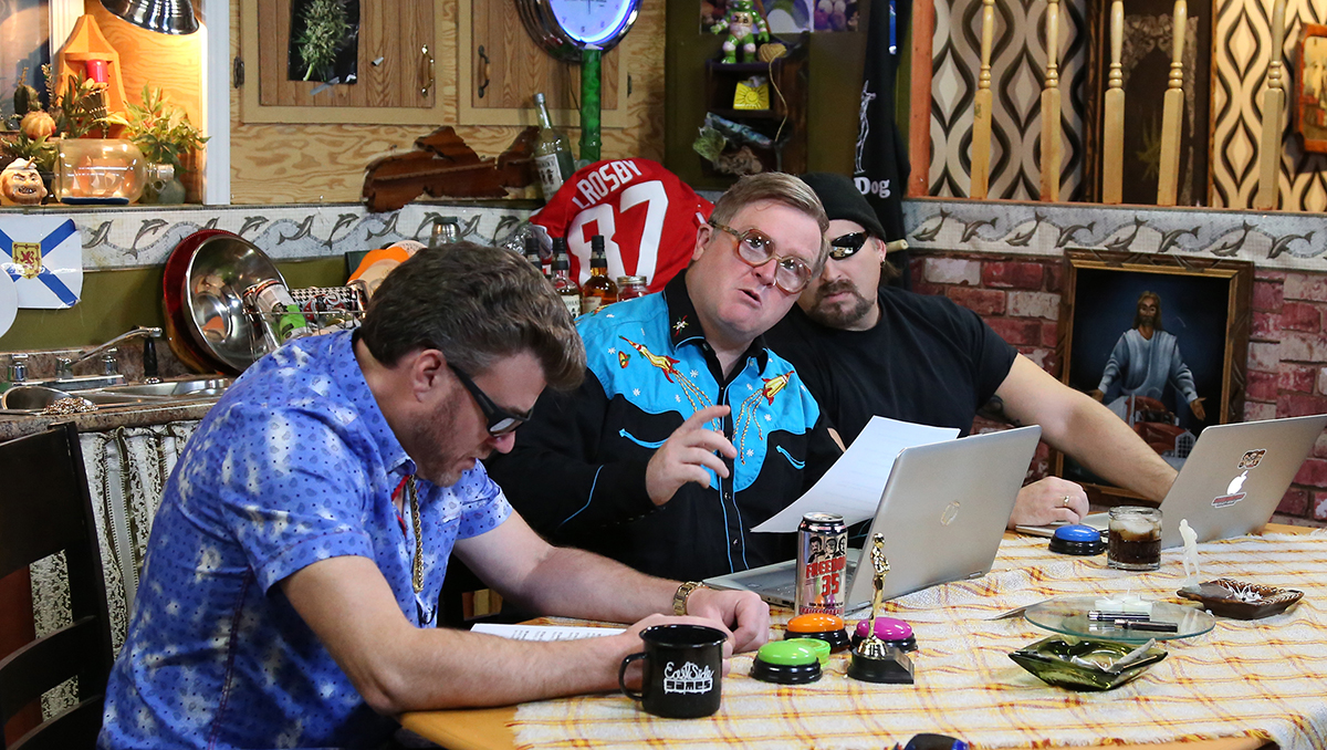 Ricky, Julian and Bubbles learn about Huli Huli chicken on the TPB Podcast
