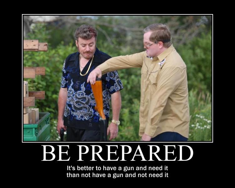 Trailer Park Boys meme - Ricky is prepared