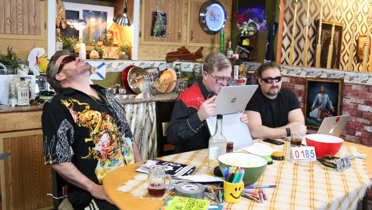 Ricky, Julian and Bubbles on the latest TPB Podcast