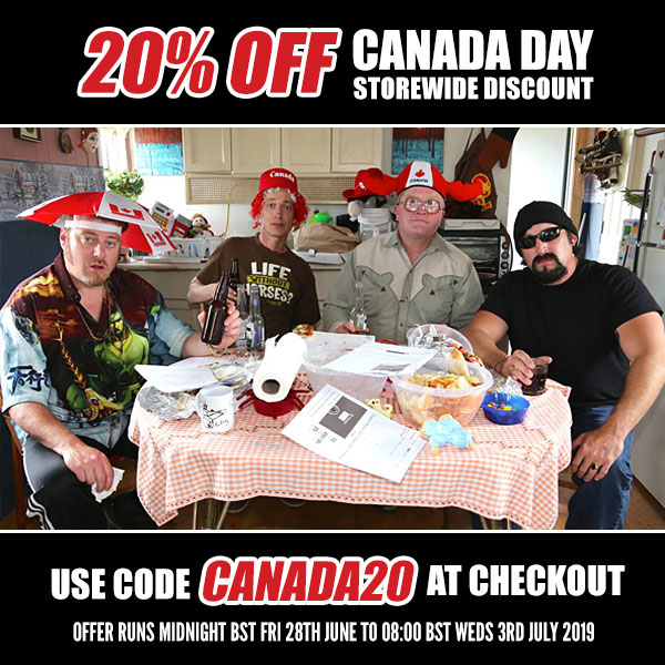 Canada Day Sale at the official TPB Store!