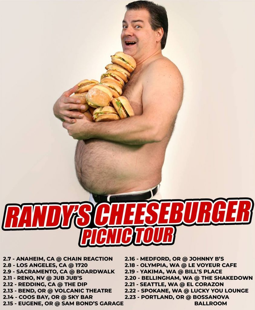 Randy's back on the road for the Cheeseburger Picnic tour