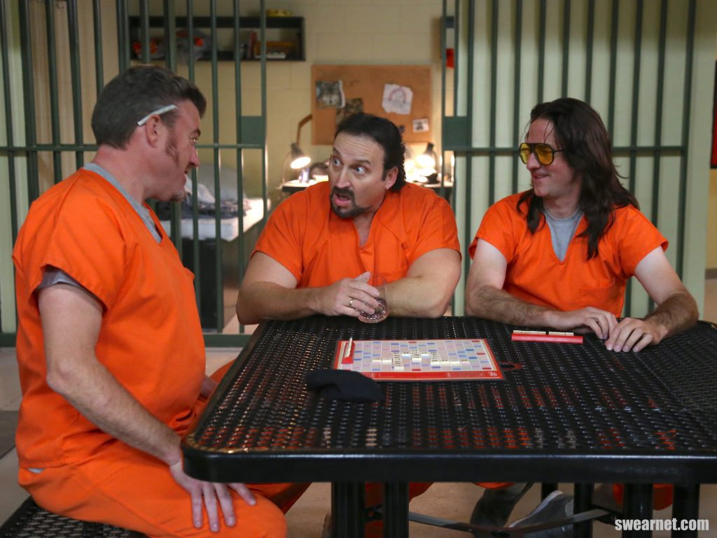 Win a year of SwearNet - Trailer Park Boys Jail caption contest