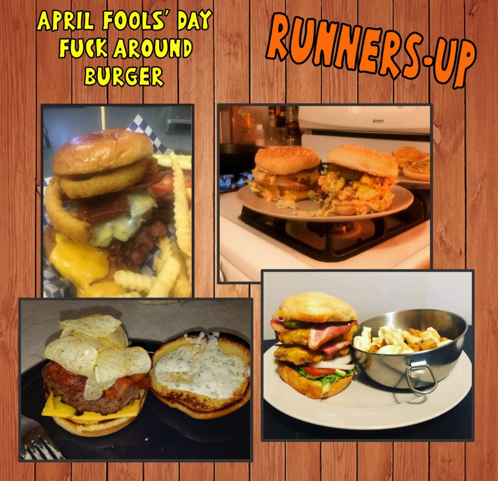 Park After Dark Fuck Around Burger Contest - runners-up