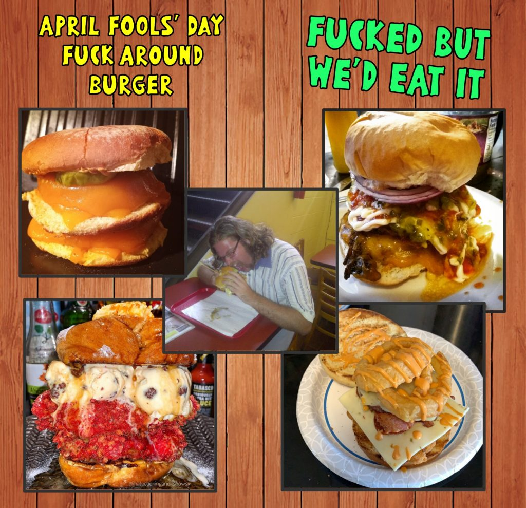 Park After Dark Fuck Around Burger Contest - fucked but we'd eat it!