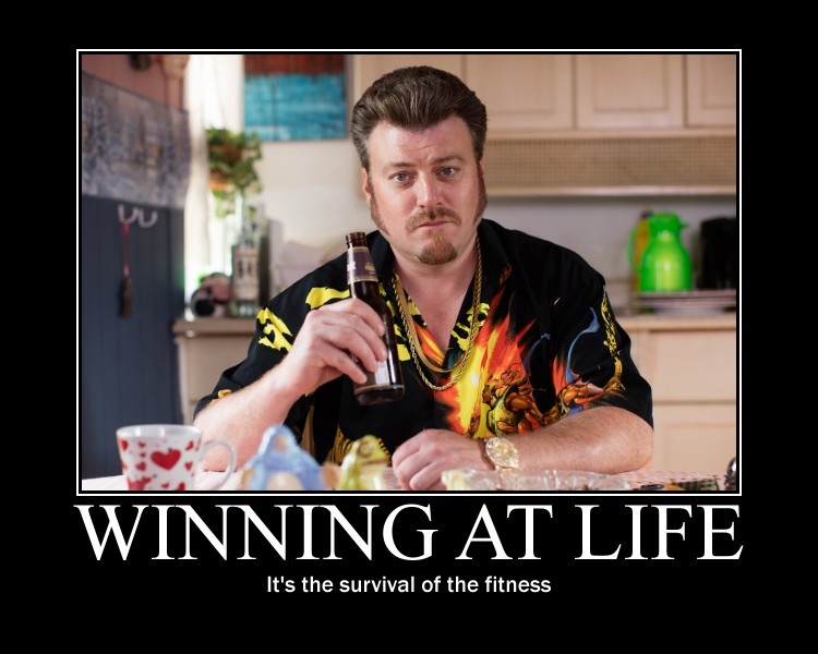 Ricky's Survival of the Fitness meme