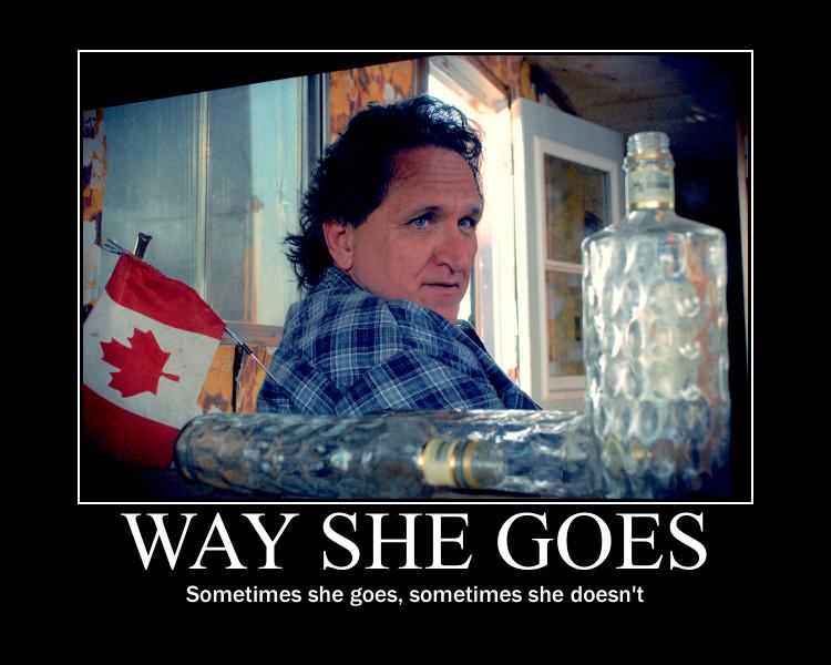 Ray meme - Way She Goes