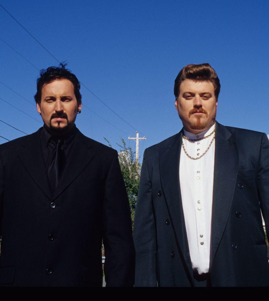 Ricky and Julian on Season 1 of Trailer Park Boys