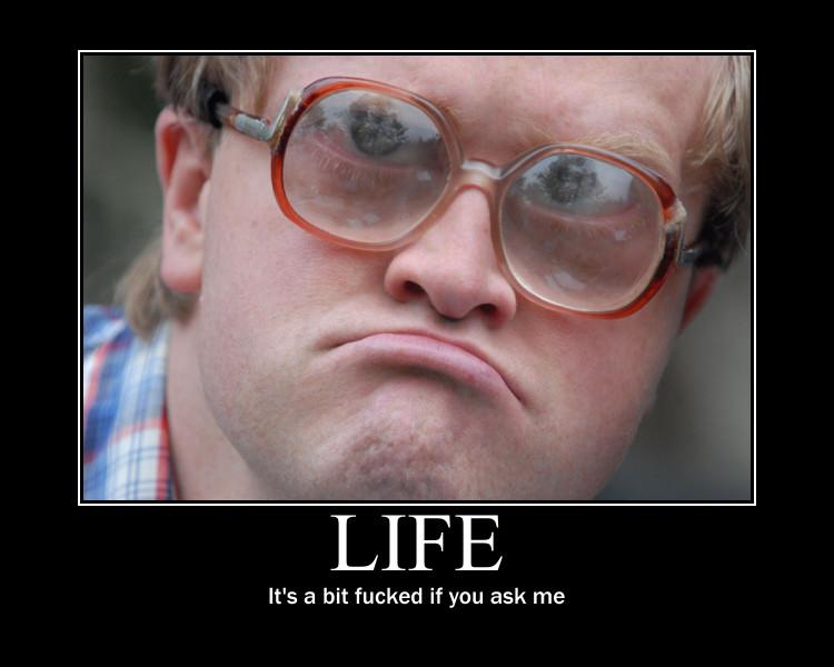 Bubbles Meme - Life's Fucked!