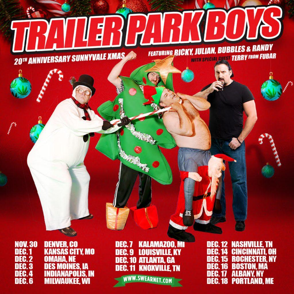 Trailer Park Boys Xmas Tour 2021